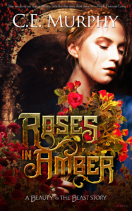 roses in amber